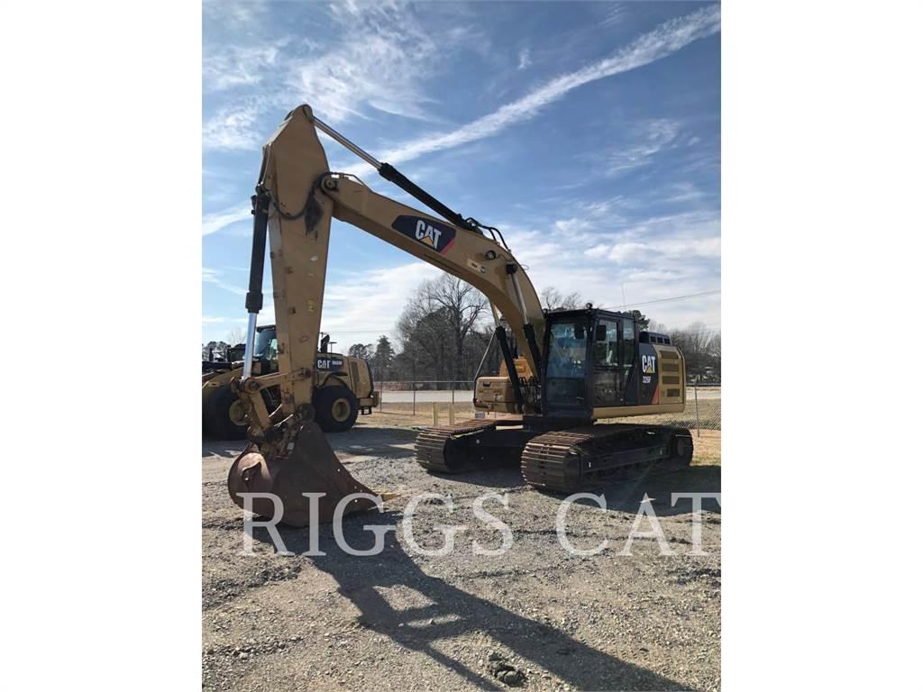 Caterpillar 326F 9, Crawler Excavators, Construction