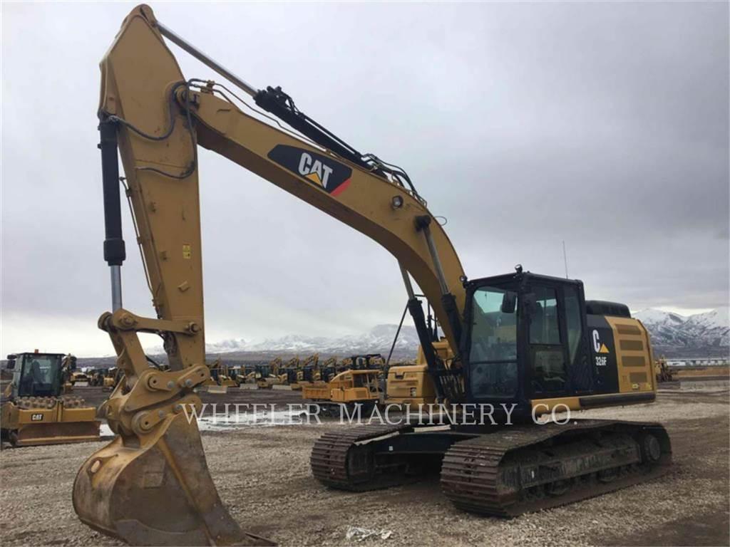 Caterpillar 326F L, Escavatori cingolati, Attrezzature Da Costruzione