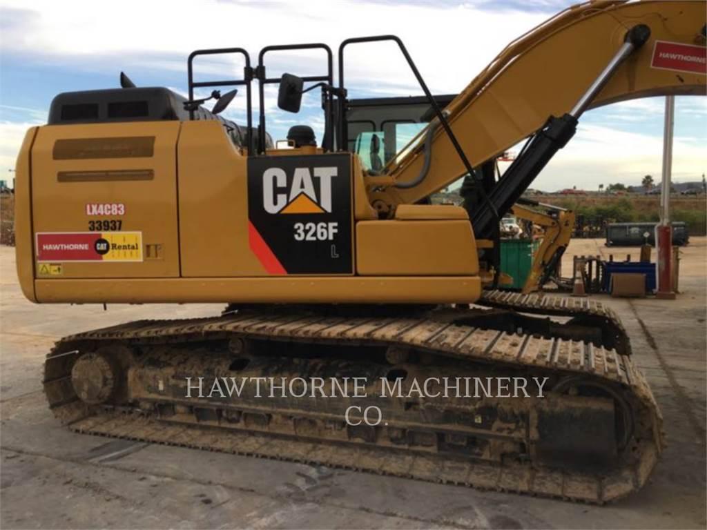 Caterpillar 326F SLR, Rupsgraafmachines, Bouw