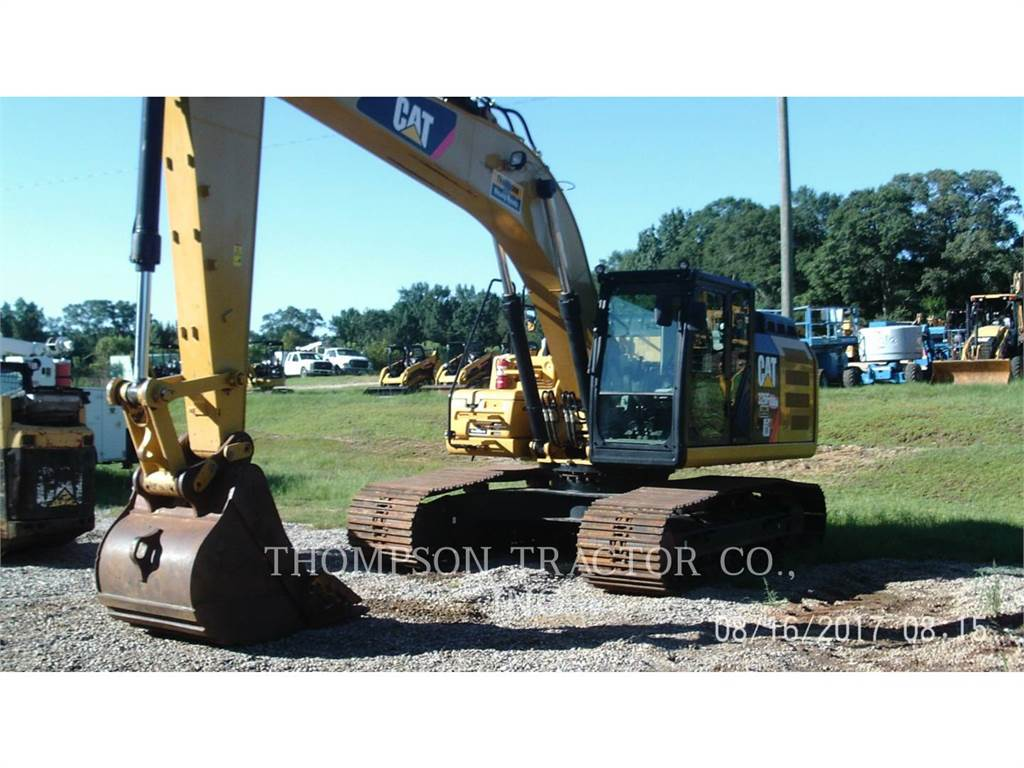 Caterpillar 326FL, Crawler Excavators, Construction
