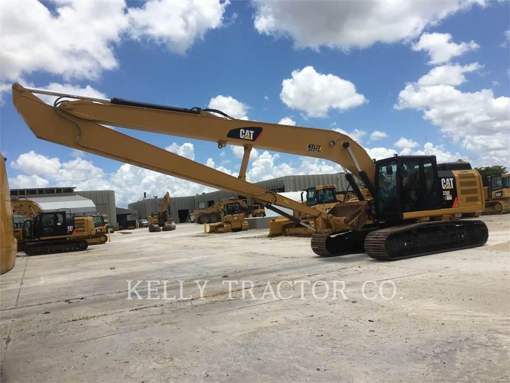 Caterpillar 326FL, Excavadoras de cadenas, Construcción