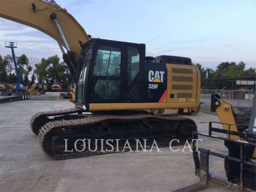 Caterpillar 326FL、履带挖掘机、建筑设备