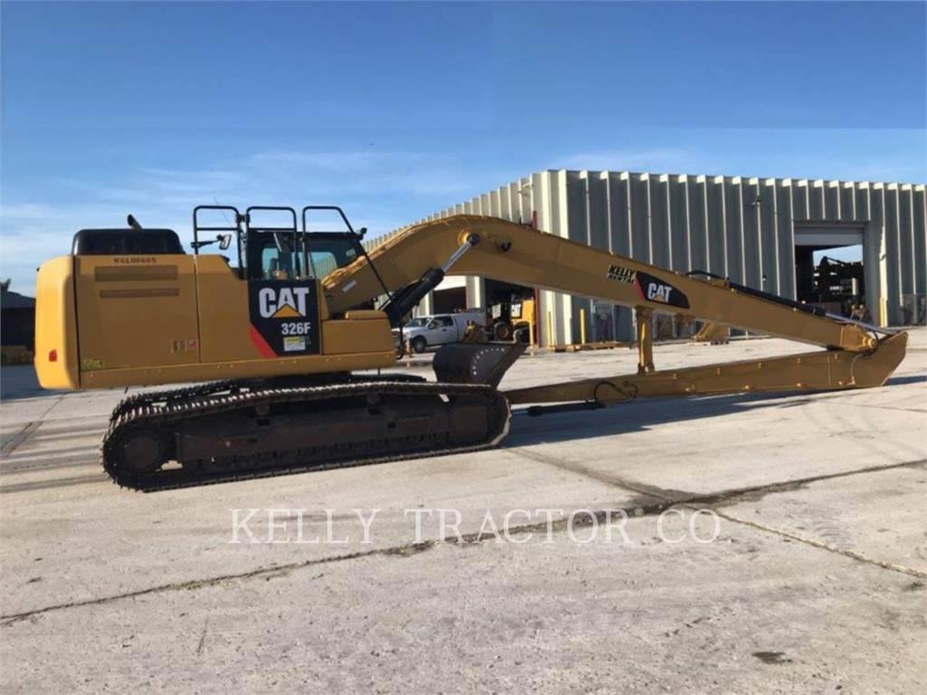 Caterpillar 326FL、クローラー式油圧ショベル(パワーショベル・ユンボ)、建設