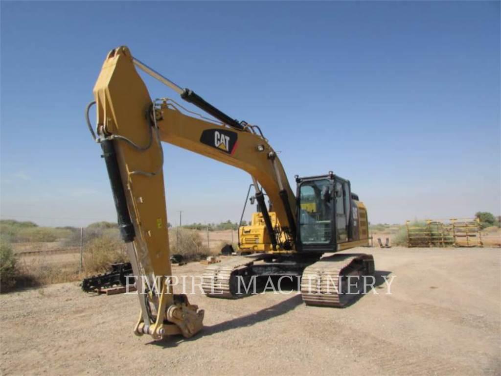 Caterpillar 326FL, Escavadoras de rastos, Equipamentos Construção