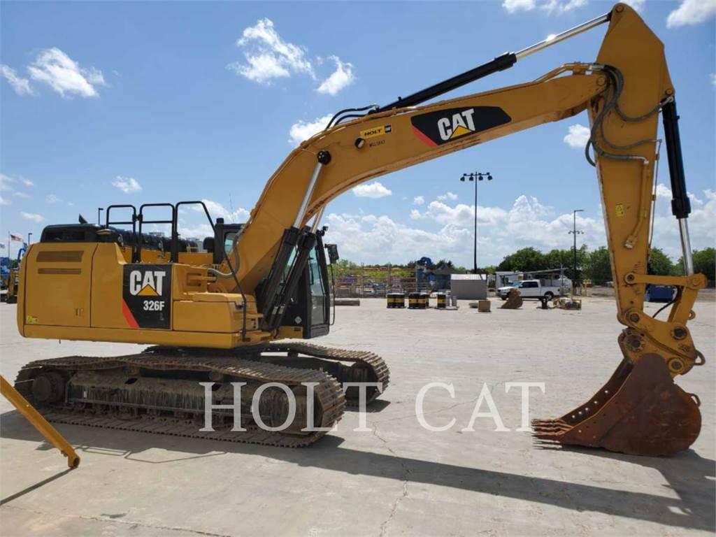 Caterpillar 326FL TC, Crawler Excavators, Construction