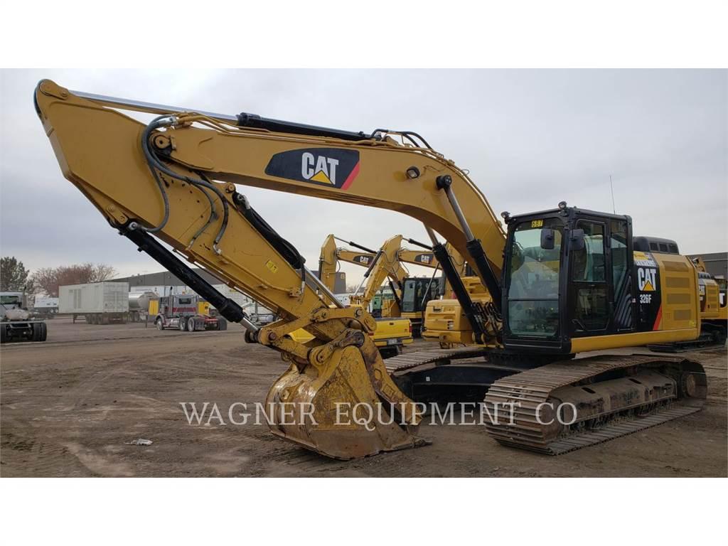 Caterpillar 326FL THB, Excavadoras de cadenas, Construcción