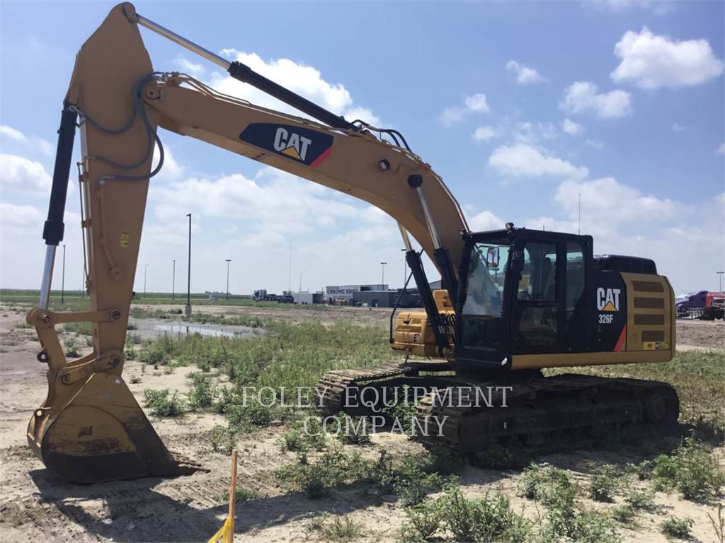 Caterpillar 326FL9, Crawler Excavators, Construction