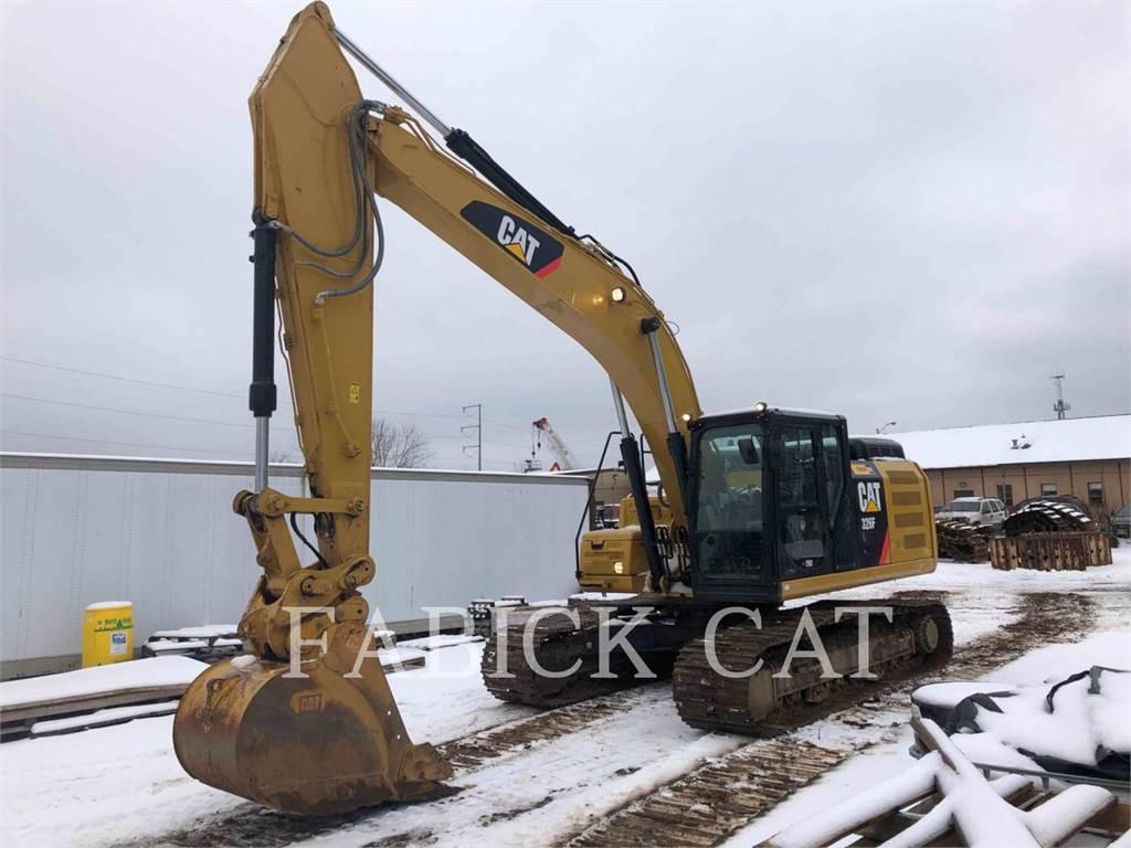 Caterpillar 326FLH, Escavadoras de rastos, Equipamentos Construção