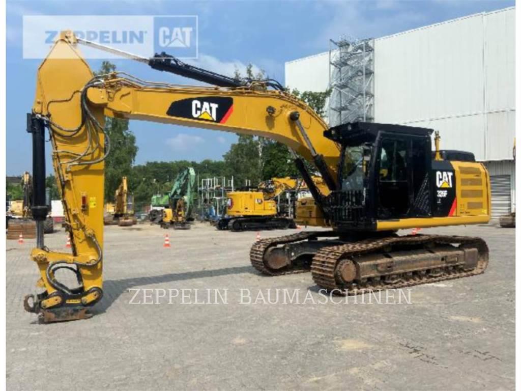 Caterpillar 326FLN, Crawler Excavators, Construction