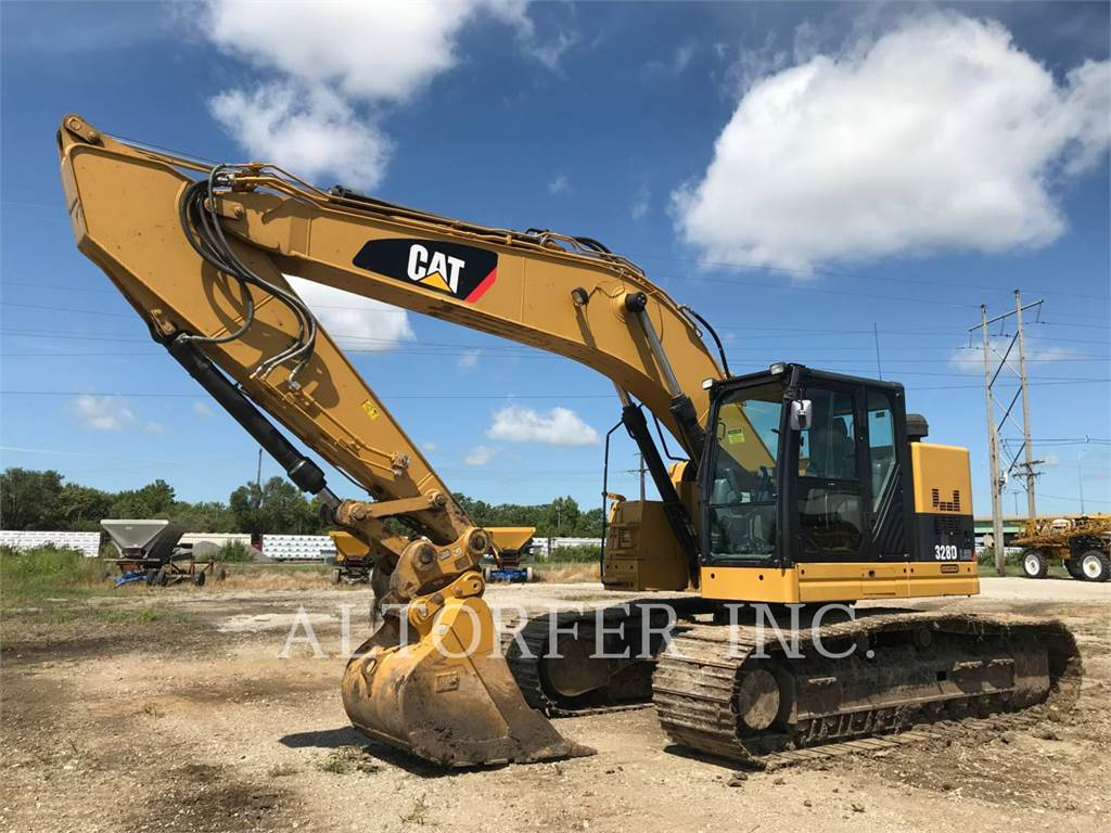 Caterpillar 328DL CR, Crawler Excavators, Construction