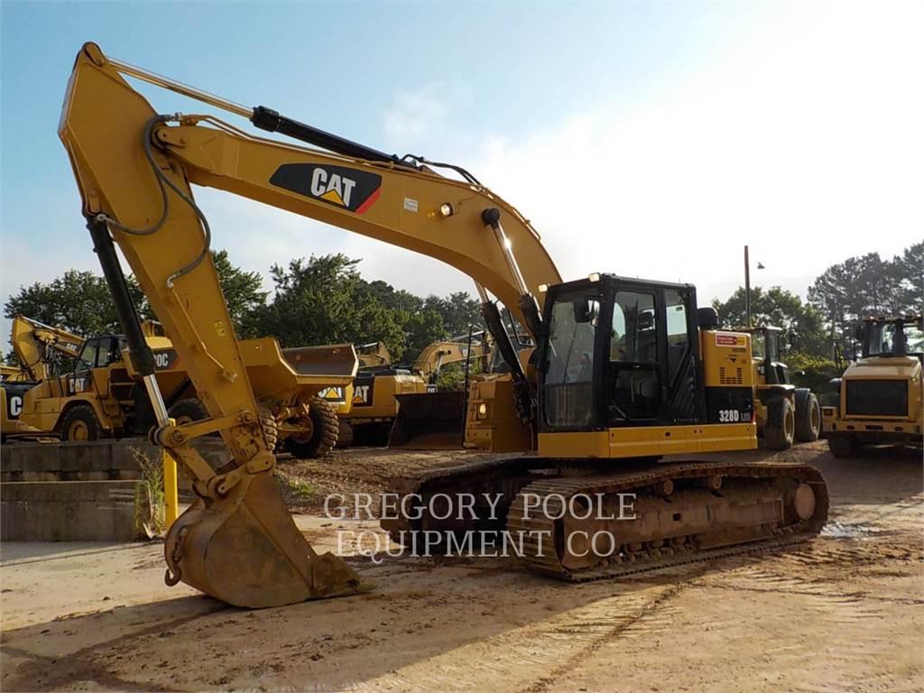 Caterpillar 328DLCR, Pelle sur chenilles, Équipement De Construction