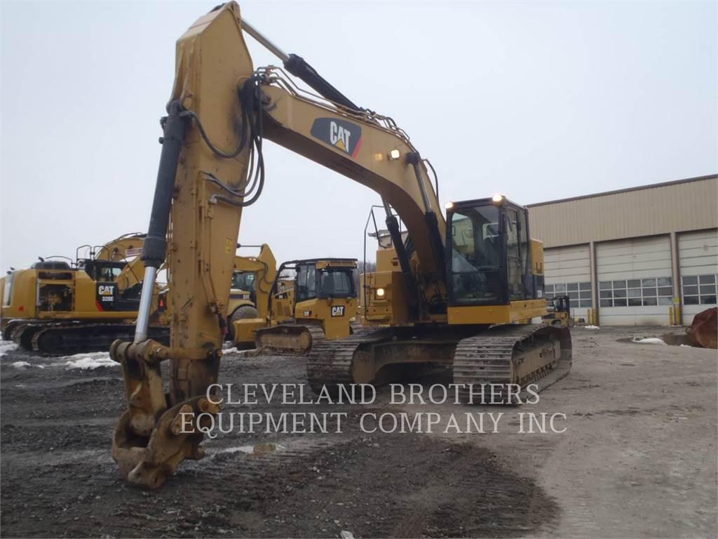 Caterpillar 328DLCR, Escavadoras de rastos, Equipamentos Construção