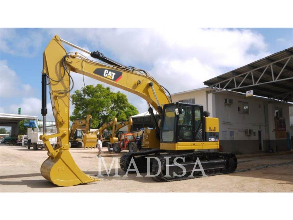 Caterpillar 328DLCR, Escavatori cingolati, Attrezzature Da Costruzione