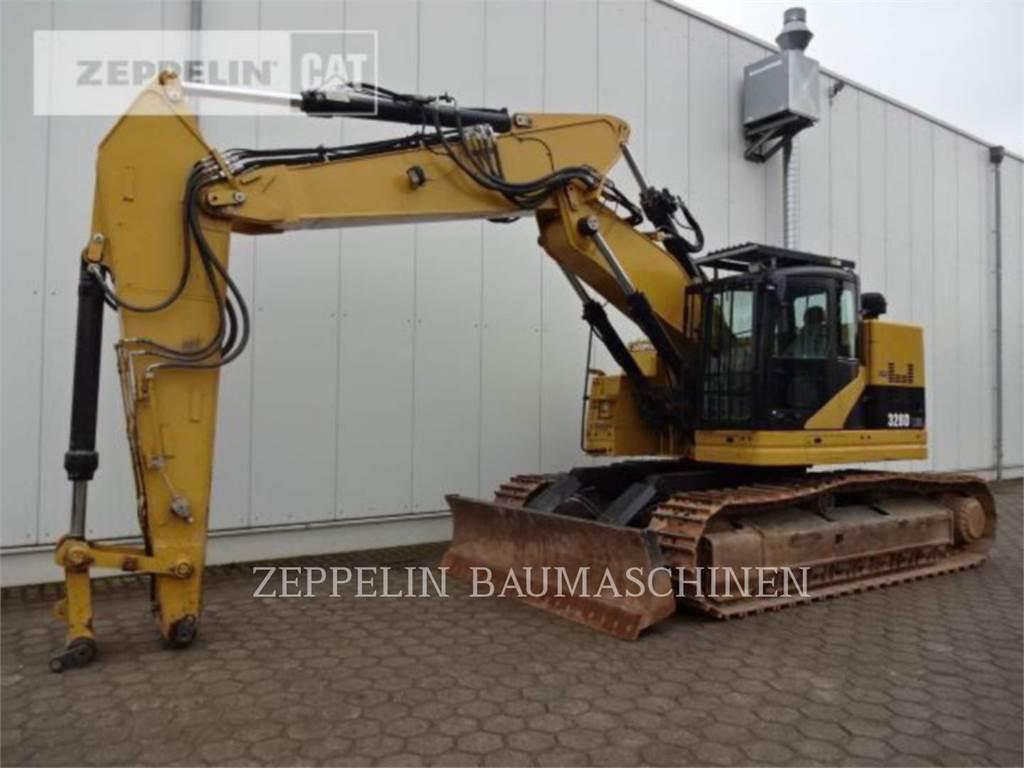 Caterpillar 328DLCR、履带挖掘机、建筑设备