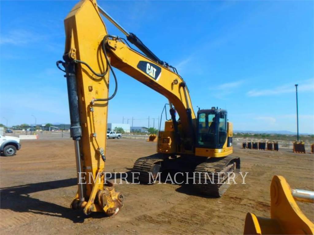 Caterpillar 328DLCR, Excavadoras de cadenas, Construcción