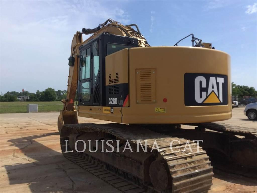 Caterpillar 328DLCR, Crawler Excavators, Construction