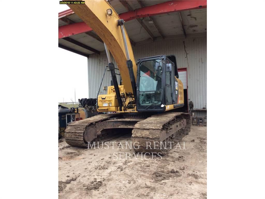 Caterpillar 329, Crawler Excavators, Construction