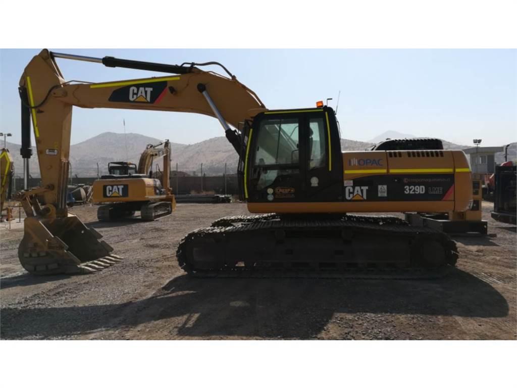 Caterpillar 329 D, Escavatori cingolati, Attrezzature Da Costruzione