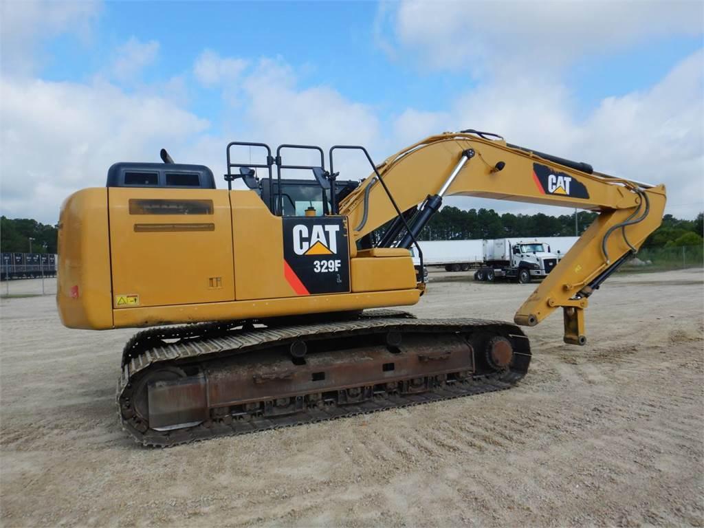 Caterpillar 329 F L, Crawler Excavators, Construction