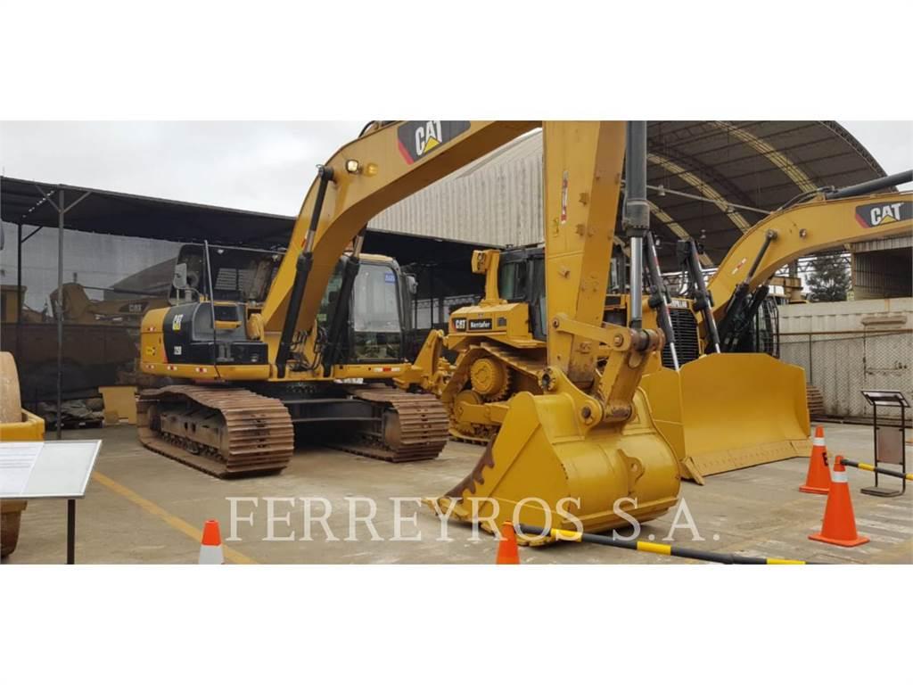 Caterpillar 329D, Crawler Excavators, Construction