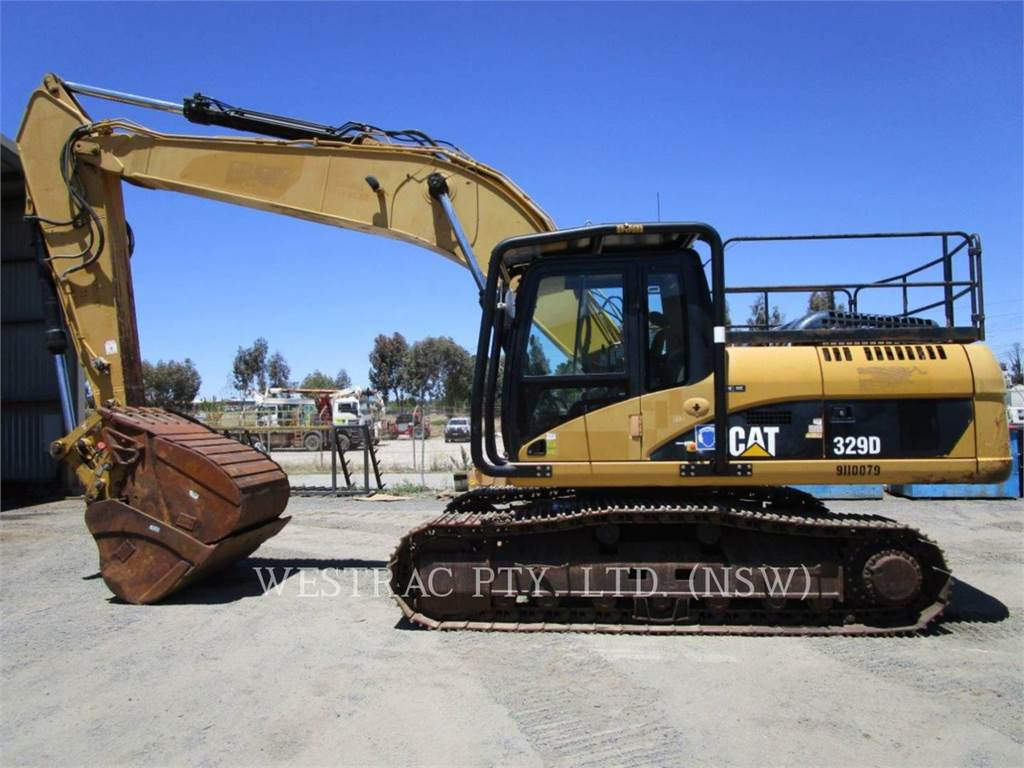 Caterpillar 329D, Escavatori cingolati, Attrezzature Da Costruzione