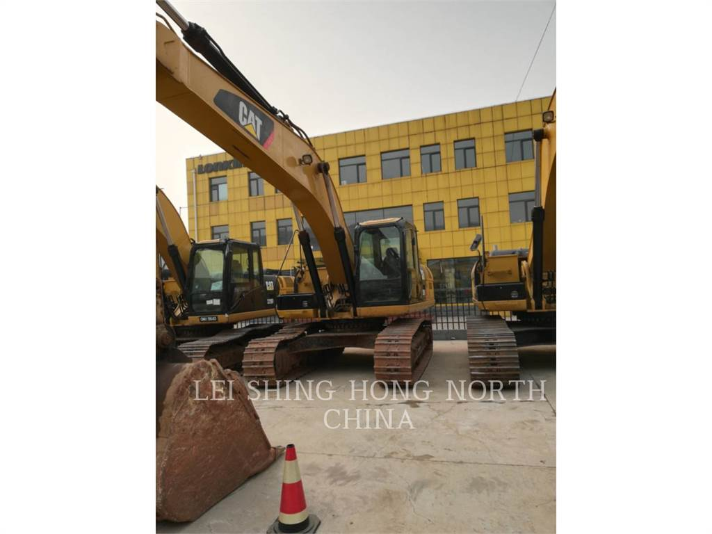 Caterpillar 329D, Crawler Excavators, Construction
