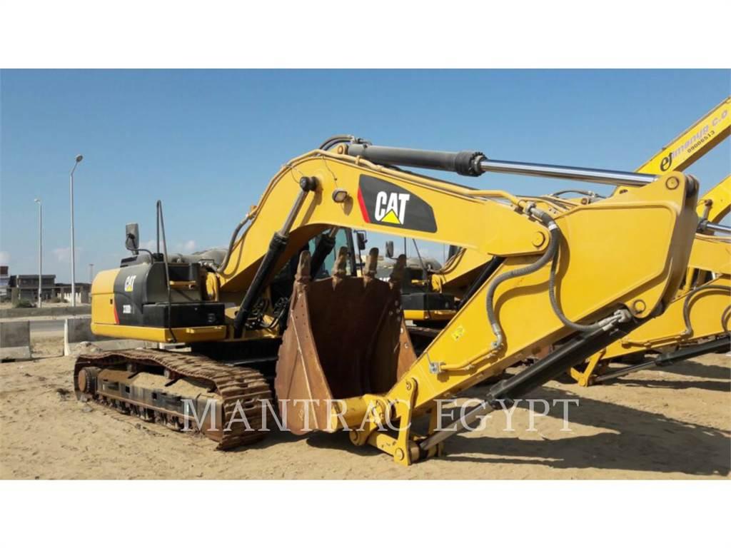 Caterpillar 329D2L, Excavadoras de cadenas, Construcción