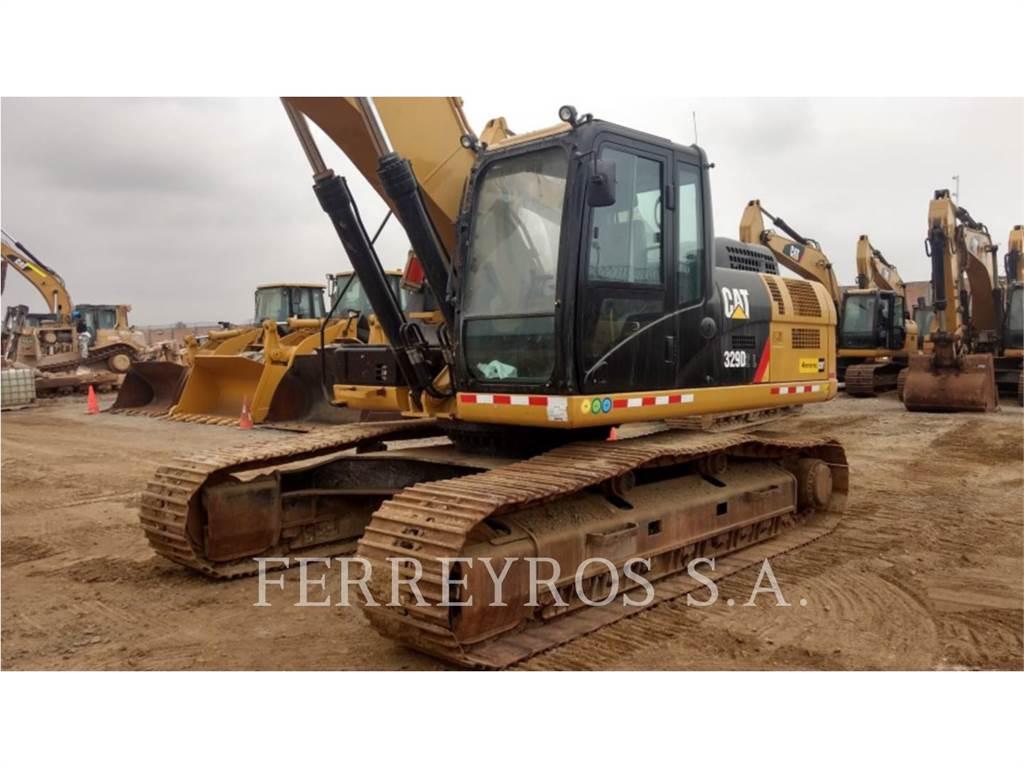 Caterpillar 329D2L, Raupenbagger, Bau-Und Bergbauausrüstung
