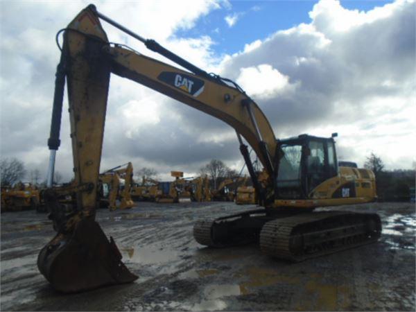 Caterpillar 329DL、クローラー式油圧ショベル(パワーショベル・ユンボ)、建設