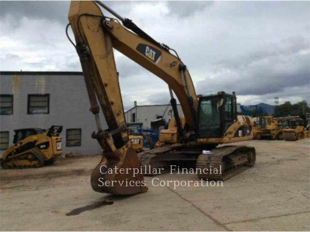 Caterpillar 329DL, Raupenbagger, Bau-Und Bergbauausrüstung