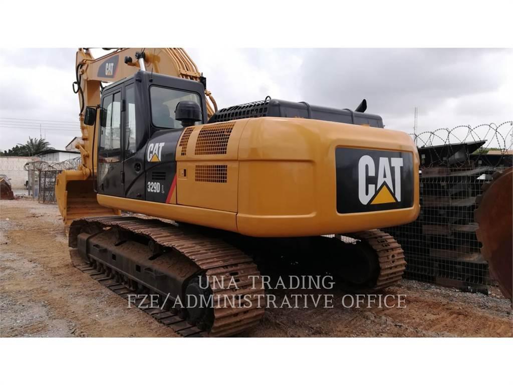 Caterpillar 329DL, Koparki gąsienicowe, Sprzęt budowlany