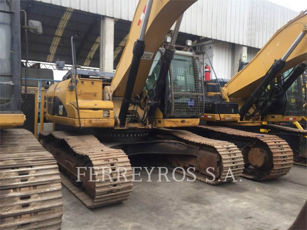 Caterpillar 329DL, Crawler Excavators, Construction