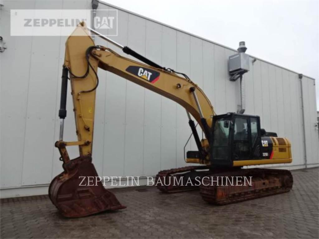 Caterpillar 329DL, Pelle sur chenilles, Équipement De Construction