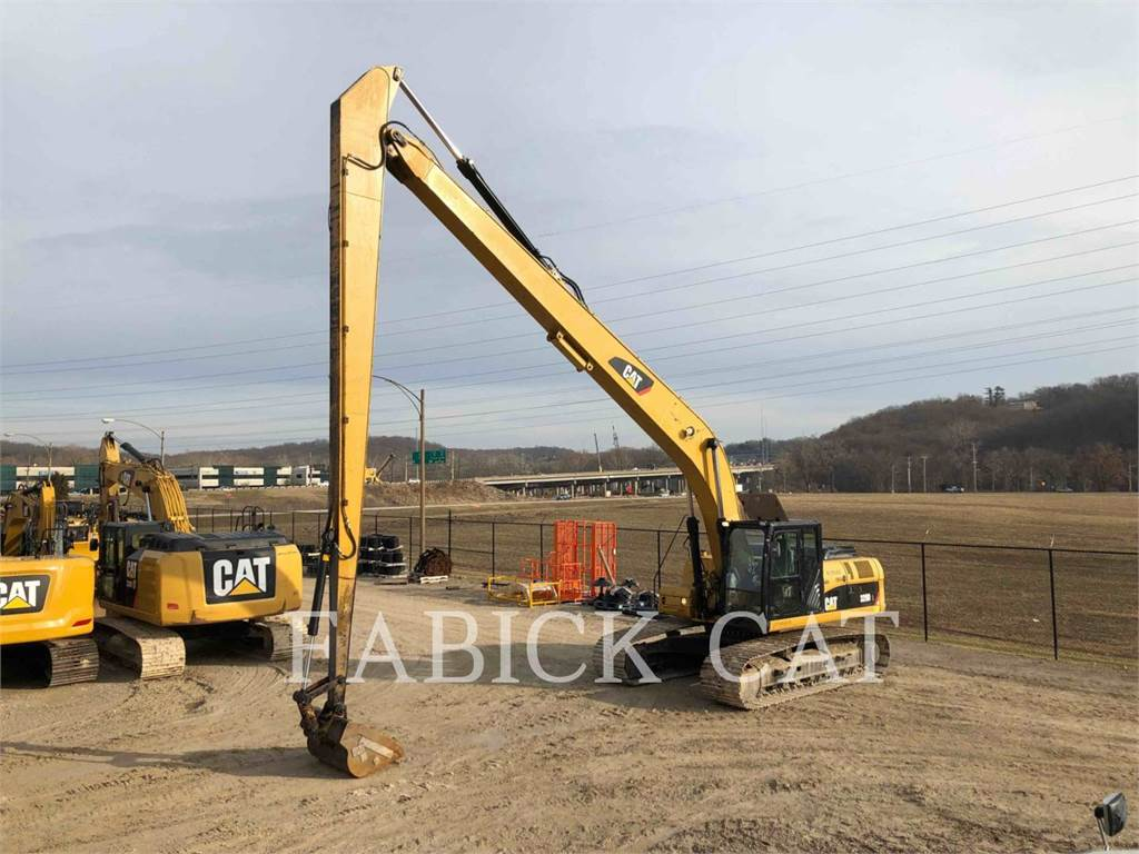 Caterpillar 329DL, Crawler Excavators, Construction