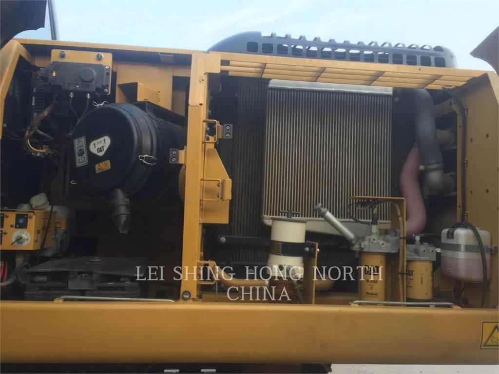 Caterpillar 329DL, Excavadoras de cadenas, Construcción