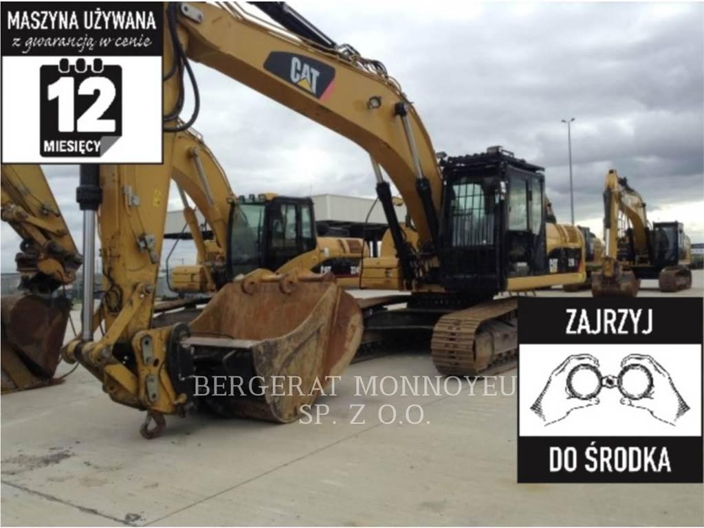 Caterpillar 329DLN, Crawler Excavators, Construction
