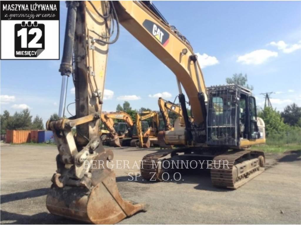 Caterpillar 329DLN、クローラー式油圧ショベル(パワーショベル・ユンボ)、建設