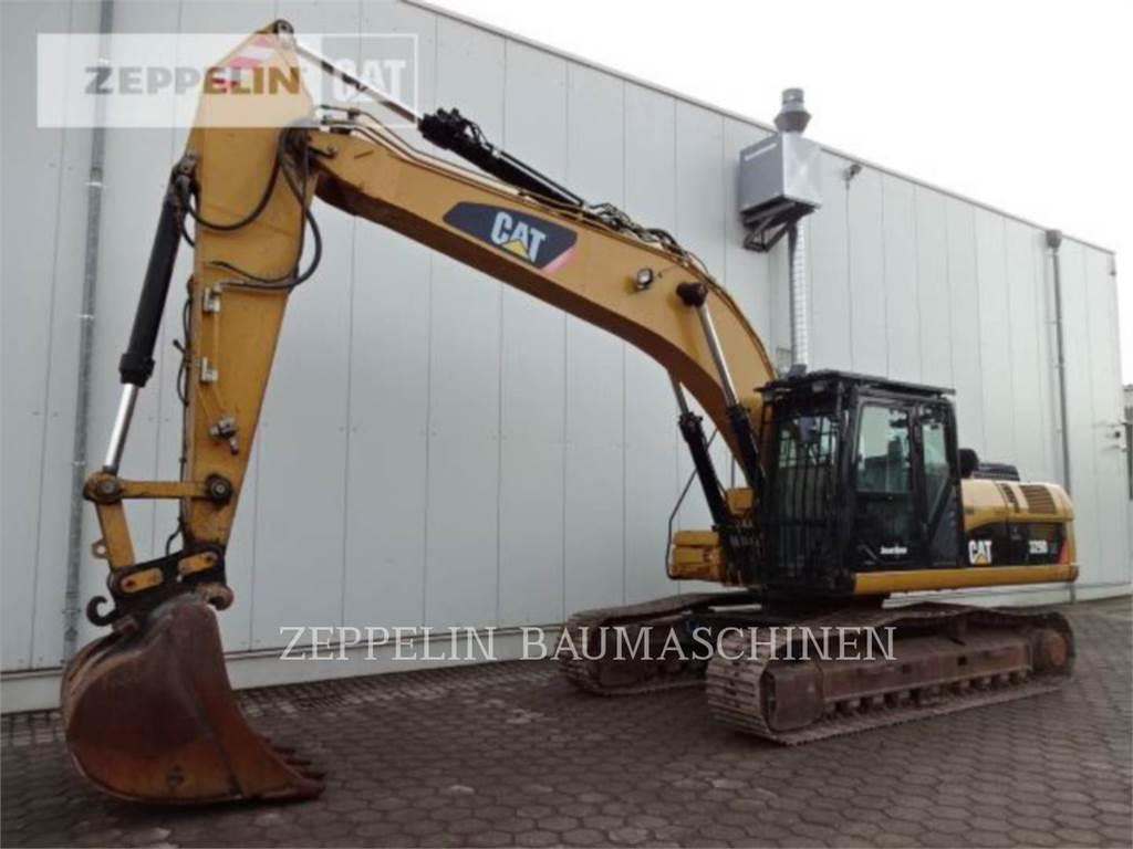 Caterpillar 329DLN、履带挖掘机、建筑设备