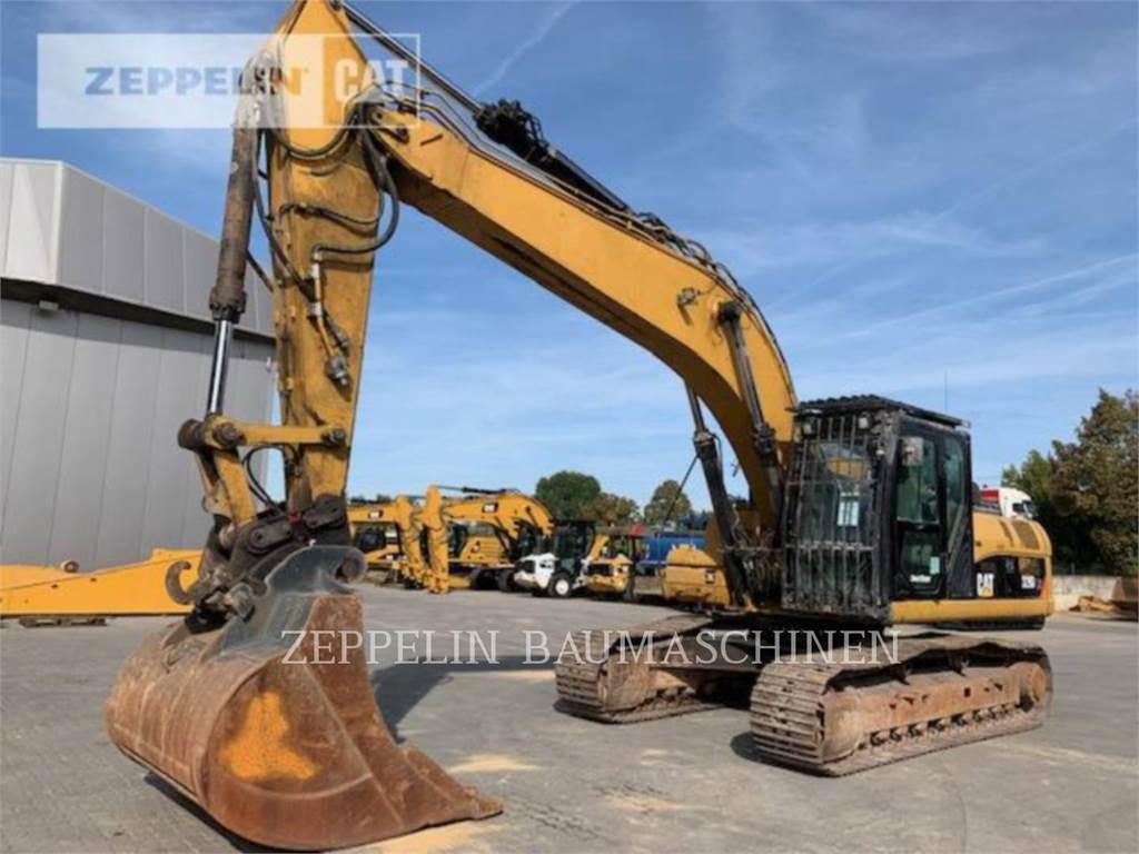 Caterpillar 329DLN, Koparki gąsienicowe, Sprzęt budowlany
