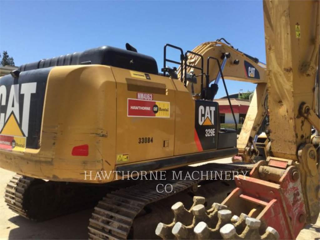 Caterpillar 329E, Escavadoras de rastos, Equipamentos Construção