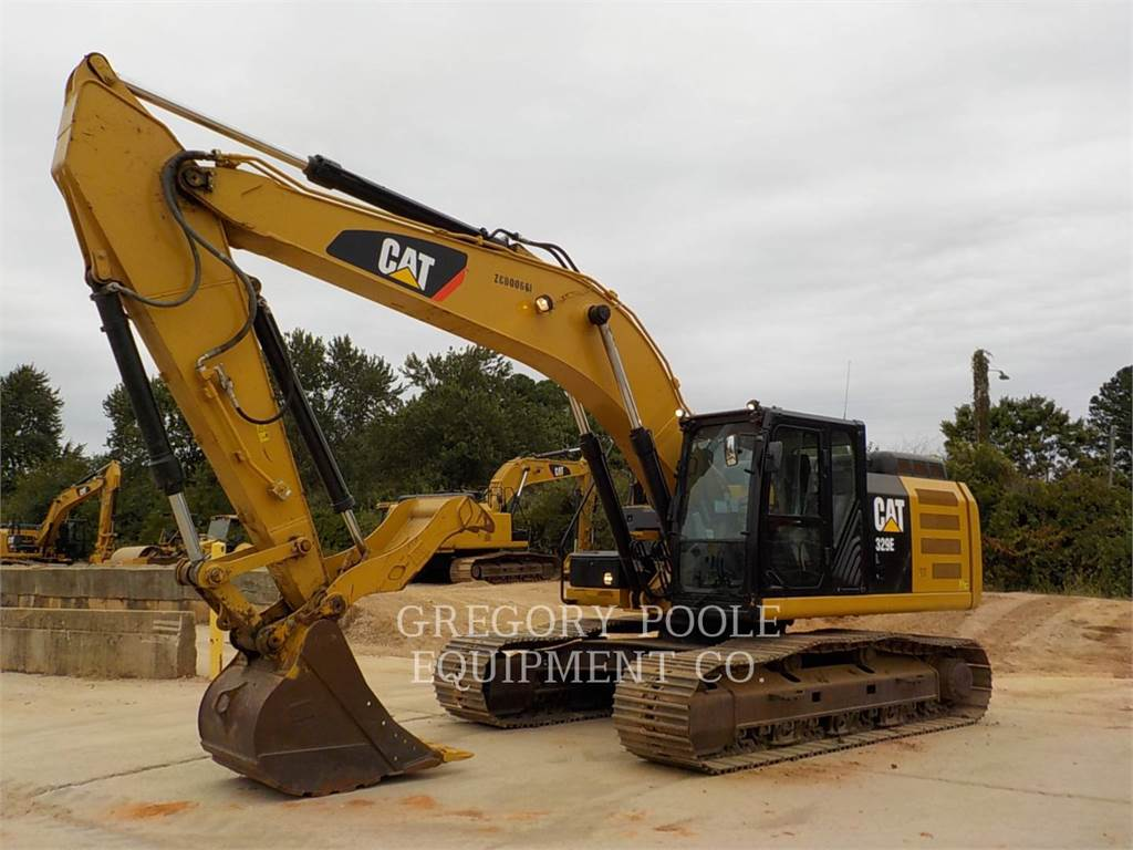 Caterpillar 329E L, Crawler Excavators, Construction