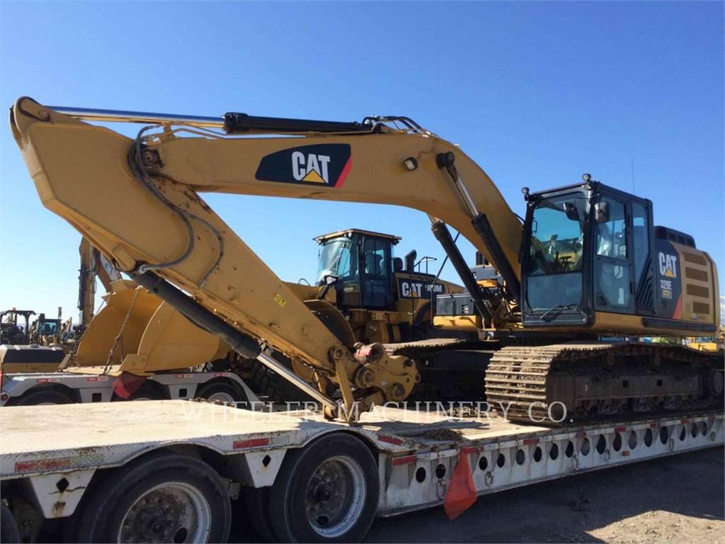 Caterpillar 329E L, Raupenbagger, Bau-Und Bergbauausrüstung