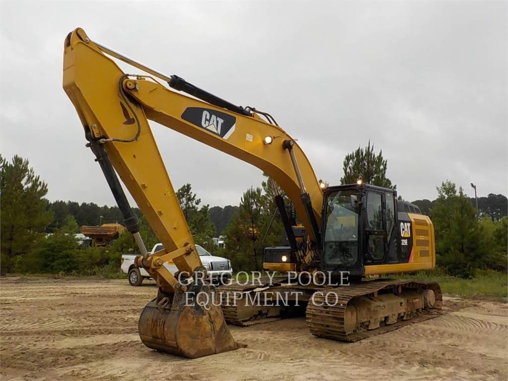 Caterpillar 329EL, Crawler Excavators, Construction