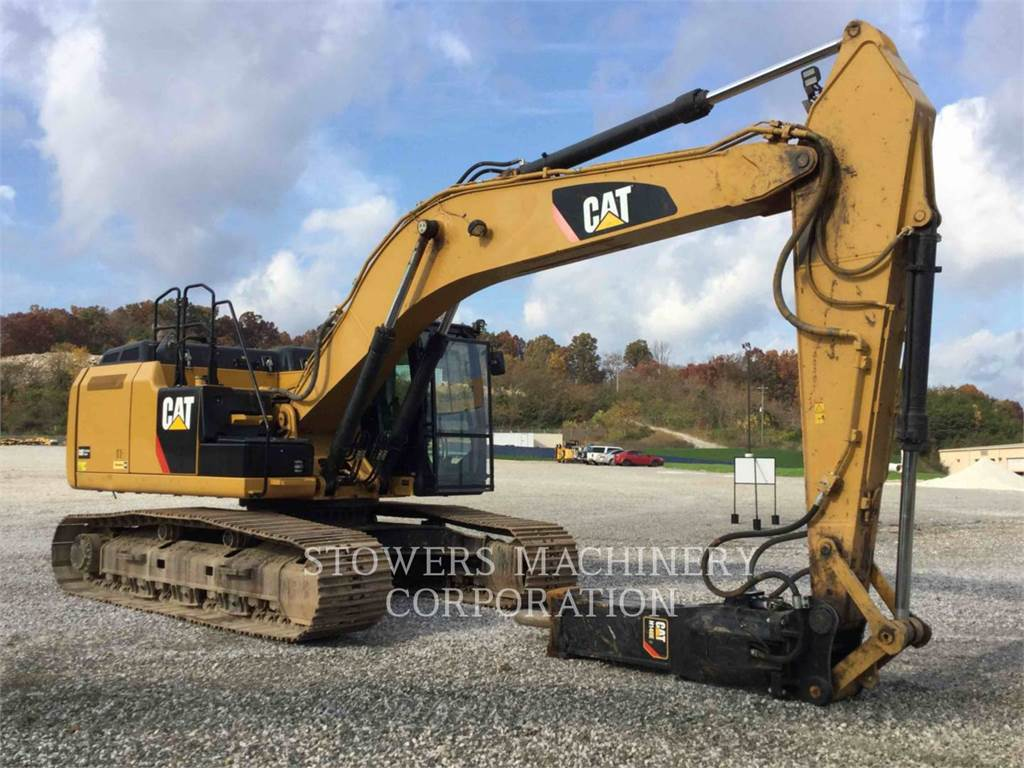 Caterpillar 329EL, Crawler Excavators, Construction