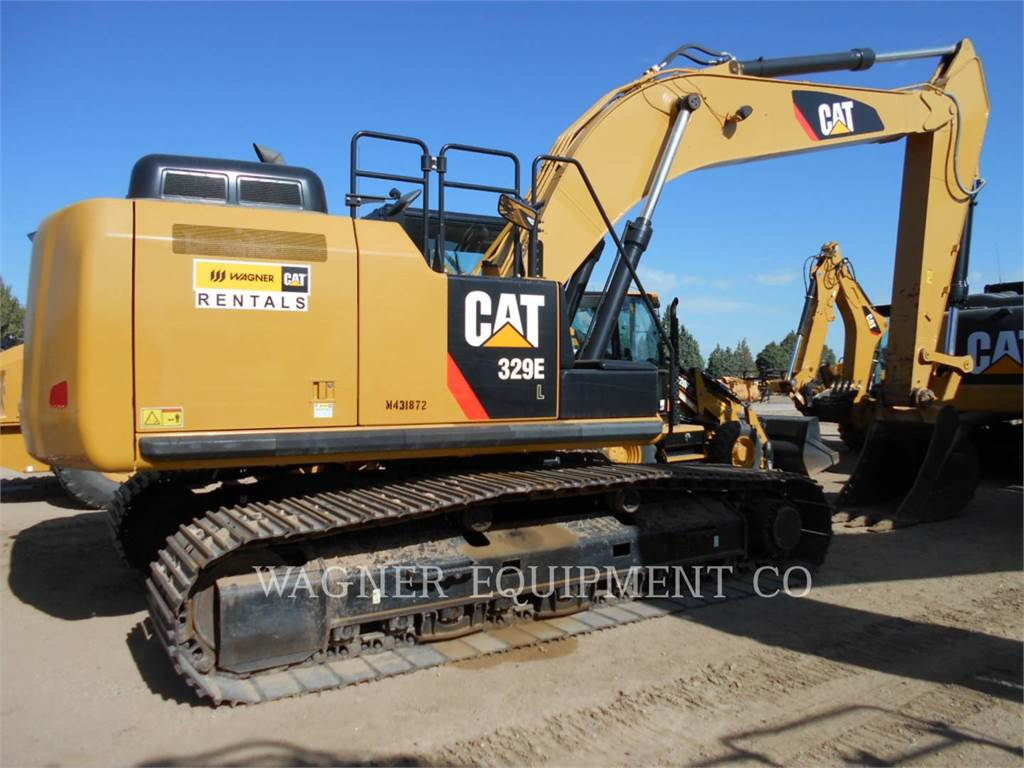 Caterpillar 329EL、クローラー式油圧ショベル(パワーショベル・ユンボ)、建設