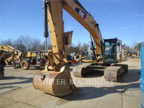 Caterpillar 329EL, Pelle sur chenilles, Équipement De Construction