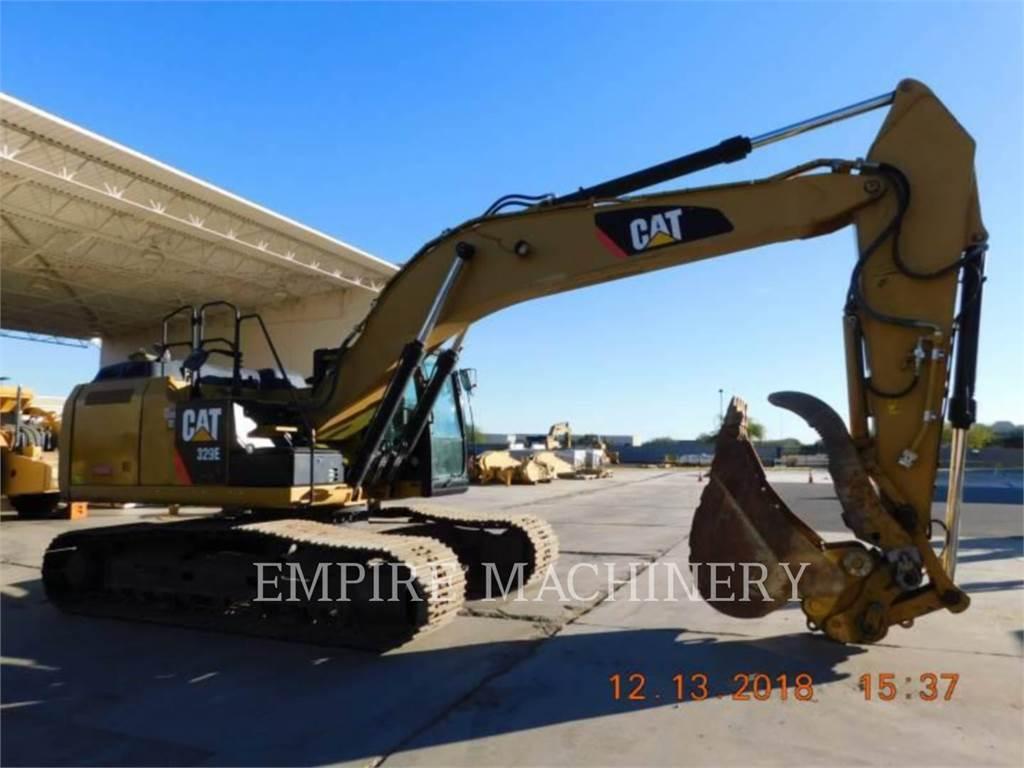 Caterpillar 329EL, Koparki gąsienicowe, Sprzęt budowlany