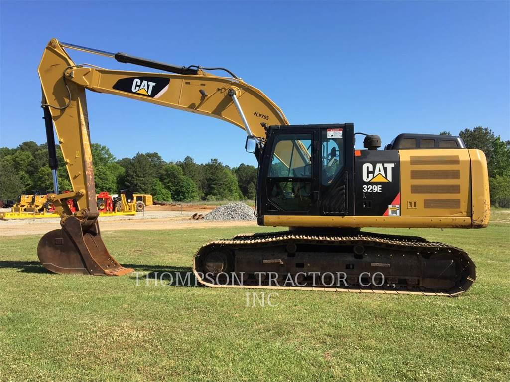 Caterpillar 329EL, Raupenbagger, Bau-Und Bergbauausrüstung