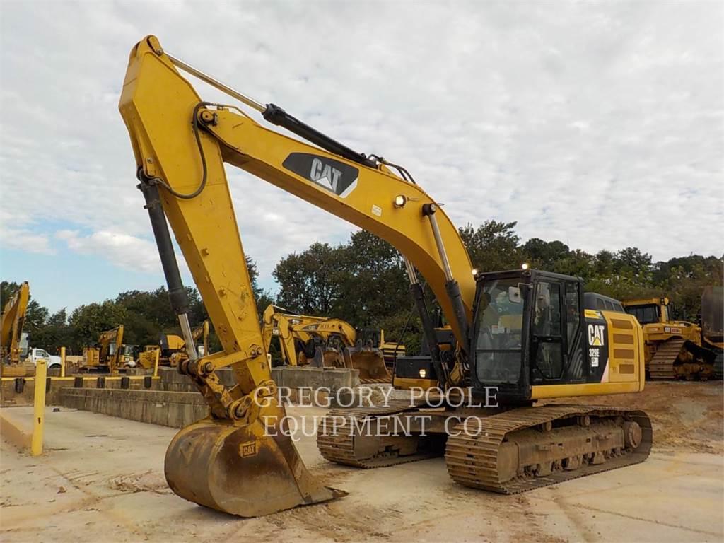 Caterpillar 329EL, Escavatori cingolati, Attrezzature Da Costruzione