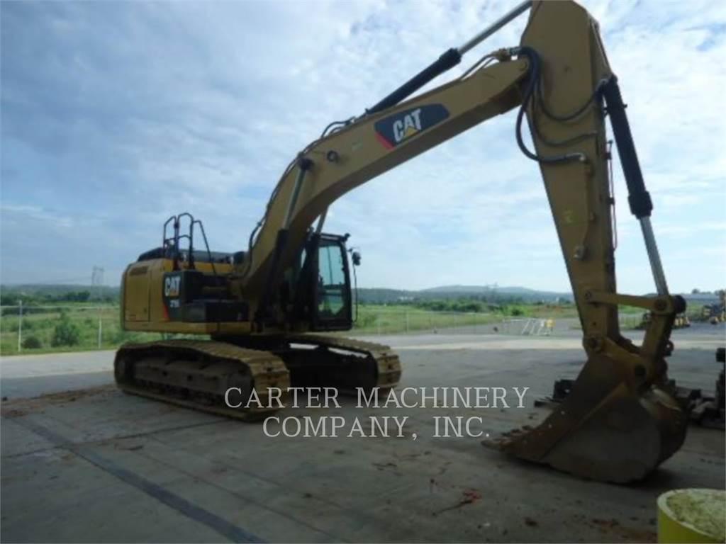 Caterpillar 329EL CF, Escavadoras de rastos, Equipamentos Construção